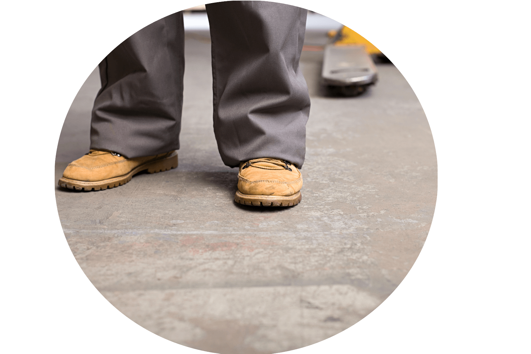 Walking Shoes For Working On Concrete